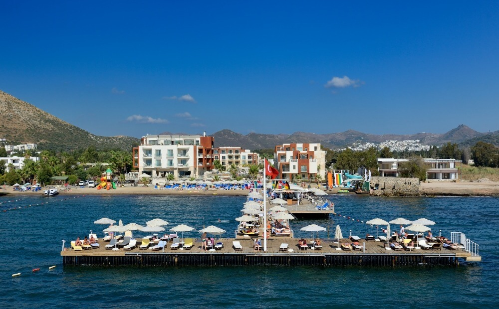 PRIVATE BEACH APARTMENTS IN BODRUM